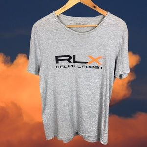 Ralph Lauren Grey Workout Graphic GYM T-Shirt S-M